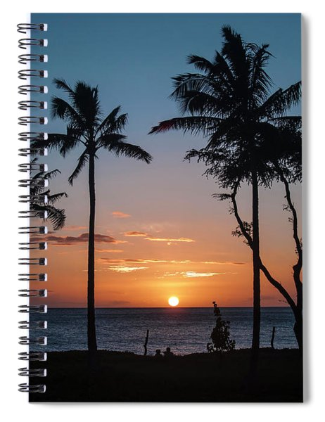 Maui Sunset Spiral Notebook