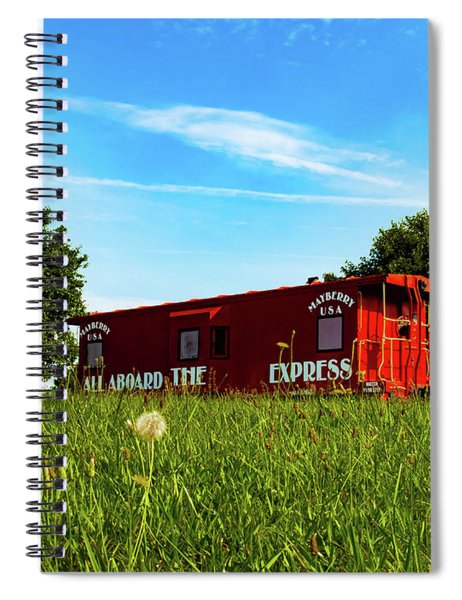 Mayberry Express Spiral Notebook