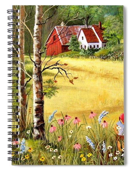 Memories For Mom Spiral Notebook