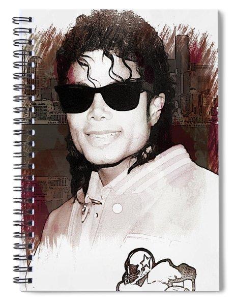 Michael Jackson Spiral Notebook