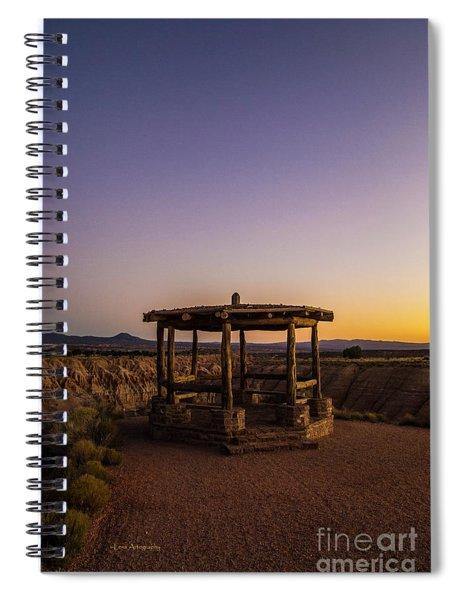 Cathedral Gorge Gazebo Spiral Notebook
