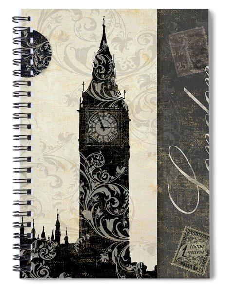 Moon Over London Spiral Notebook