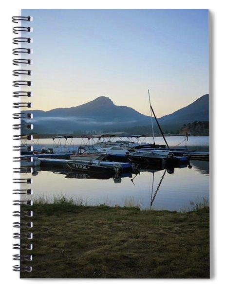 Morning Fog Spiral Notebook