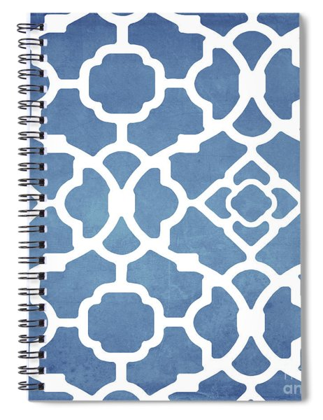 Moroccan Blues Spiral Notebook