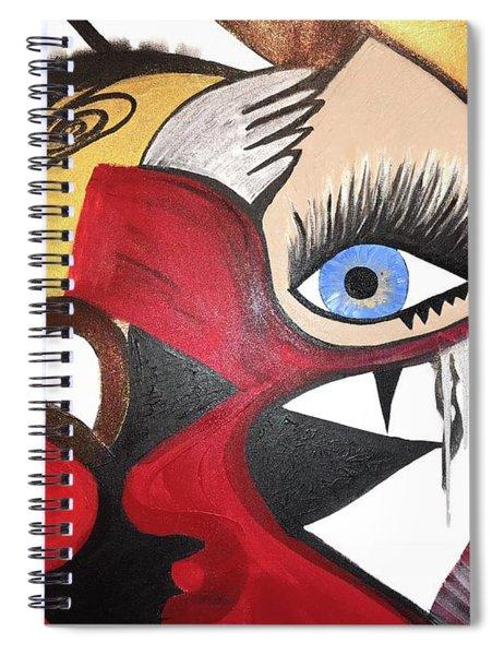 Motley Eye 2 Spiral Notebook