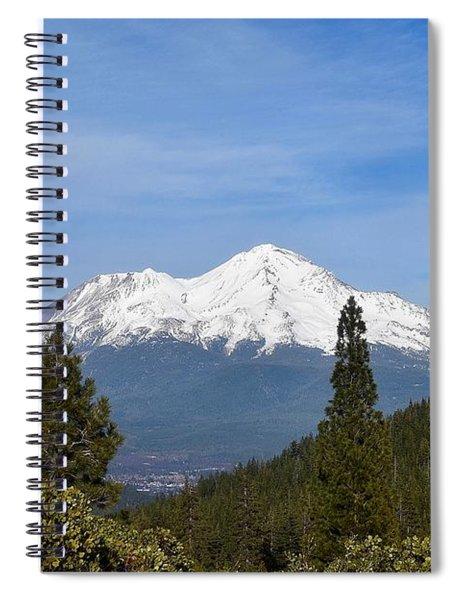 Mt Shasta Spiral Notebook