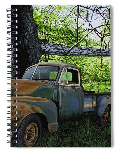 The Ol' Mushroom Hauler Spiral Notebook