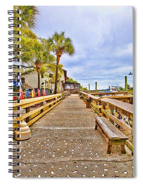 Murrells Inlet Marshwalk Spiral Notebook