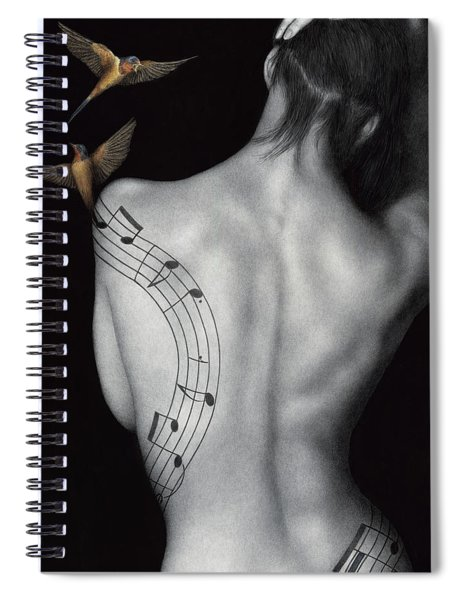 Muse-ic Spiral Notebook