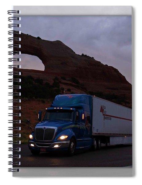 Mvt #7  Spiral Notebook