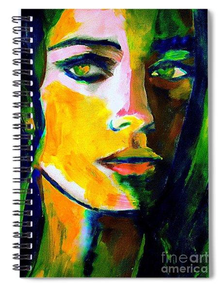 Naked Gaze Spiral Notebook