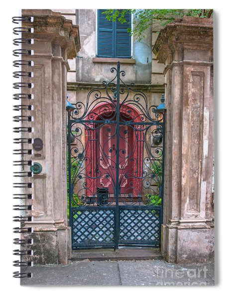 Narrow Is The Gate Spiral Notebook