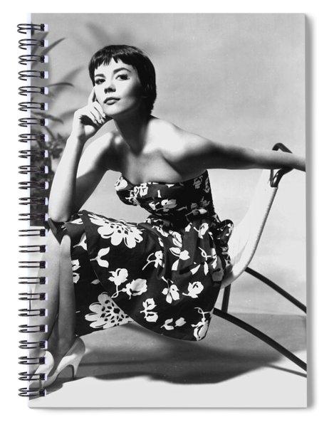Natalie Wood Spiral Notebook