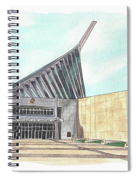 National Museum Of The Marine Corps Spiral Notebook