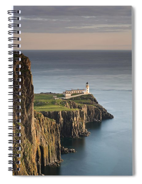 Neist Point At Sunset Spiral Notebook