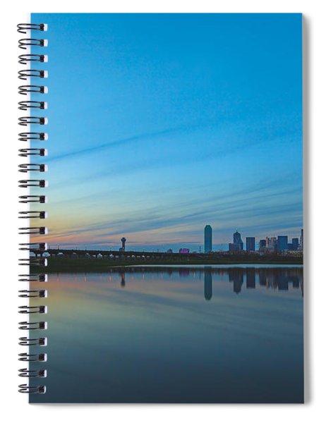 Night Begins Spiral Notebook