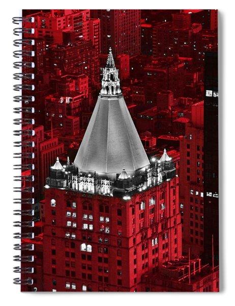 New York Life Building Spiral Notebook