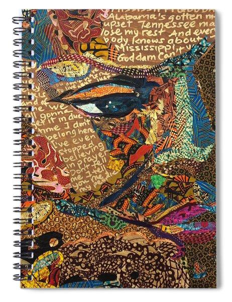Nina Simone Fragmented- Mississippi Goddamn Spiral Notebook