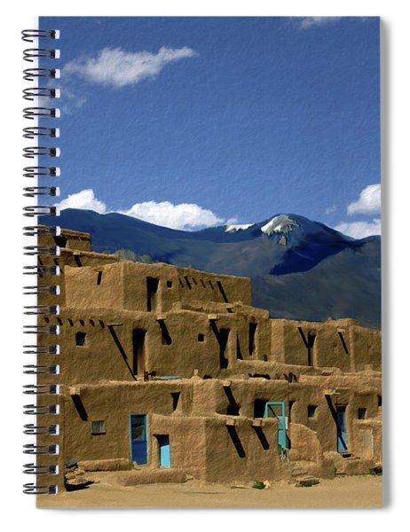 North Pueblo Taos Spiral Notebook