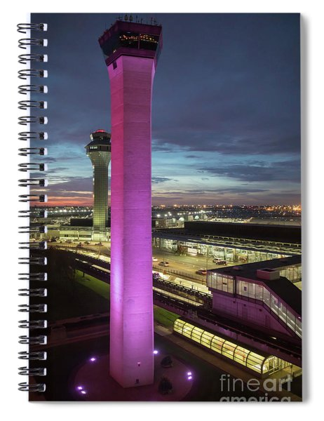 O'hare Airport Spiral Notebook