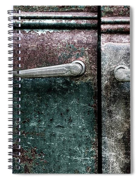 Old Car Weathered Paint Spiral Notebook