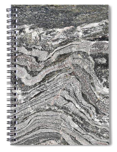 Old Rock Background Spiral Notebook