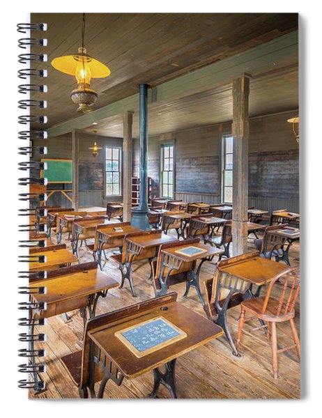 Old Schoolroom Spiral Notebook