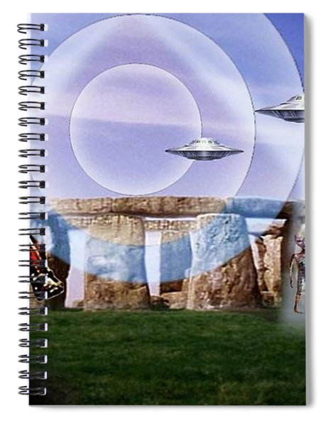 Once Upon A Time . . .  Spiral Notebook