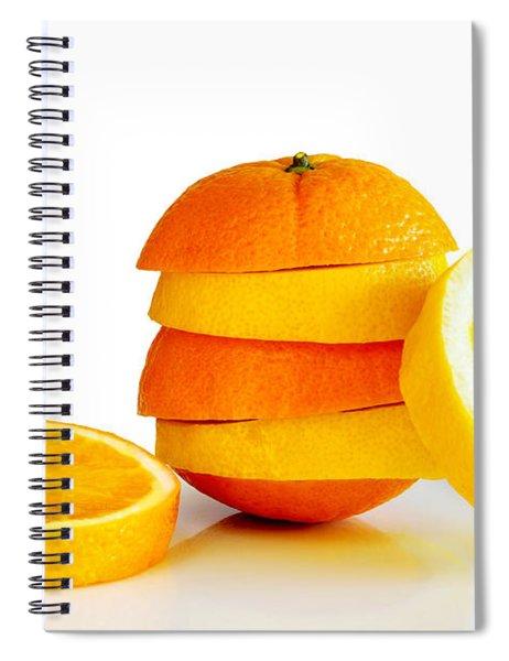 Oranje Lemon Spiral Notebook