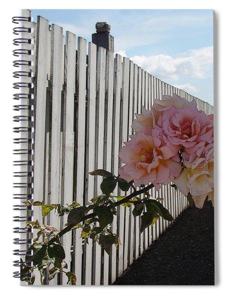 Orcas Island Rose Spiral Notebook