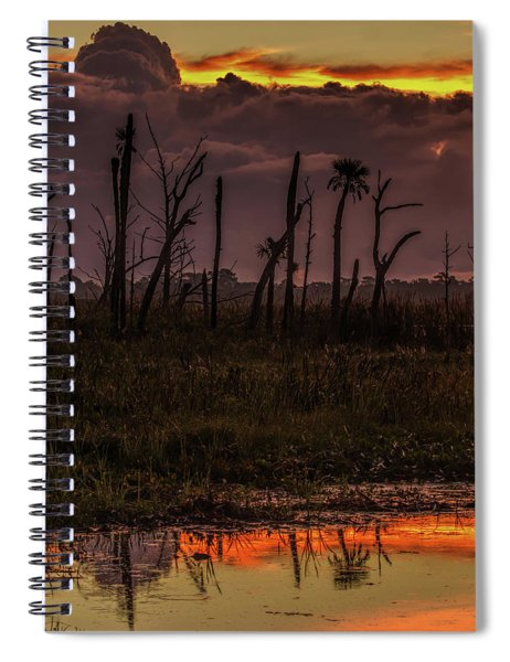 Orlando Wetlands Sunrise Spiral Notebook