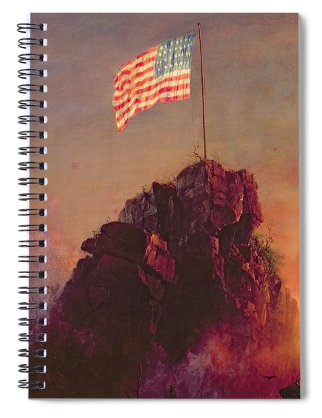 Our Flag Spiral Notebook