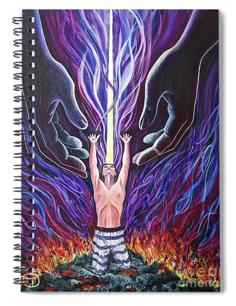 Out Of The Ashes Spiral Notebook