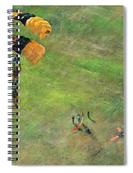 Out Of The Gold Spiral Notebook
