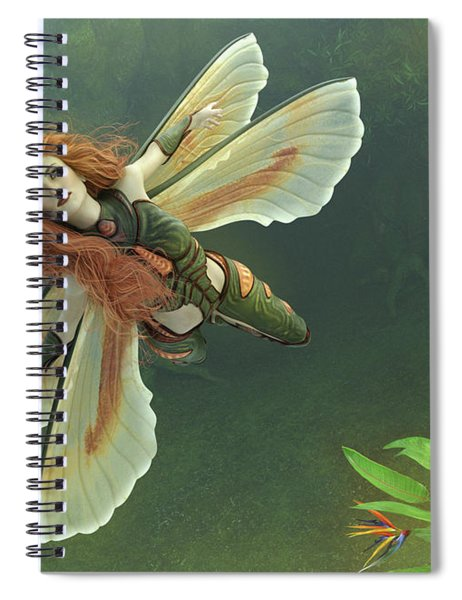 Out Of The Mist Spiral Notebook