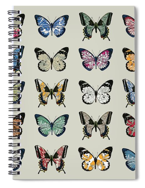Papillon Spiral Notebook
