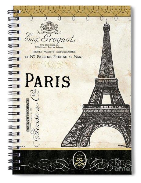 Paris Ooh La La 1 Spiral Notebook