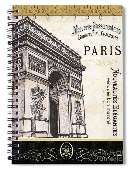 Paris Ooh La La 2 Spiral Notebook
