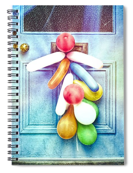 Party Balloons Spiral Notebook