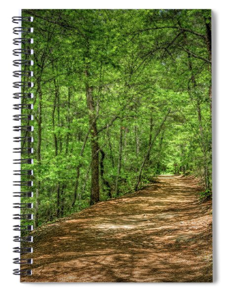 Path Less Travelled - Impressionist Spiral Notebook