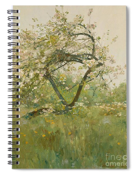Peach Blossoms Spiral Notebook
