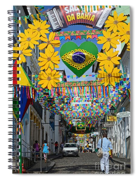 Pelourinho - The Historic Center Of Salvador Spiral Notebook