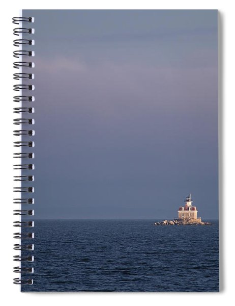 Penfield Reef Lighthouse Spiral Notebook