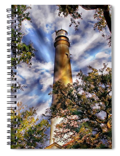 Pensacola Lighthouse Spiral Notebook