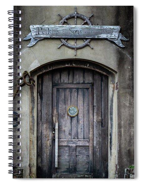 Perkins And Sons Door Spiral Notebook