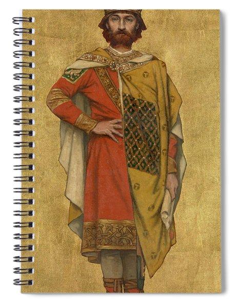 Pieter De Coninck Spiral Notebook