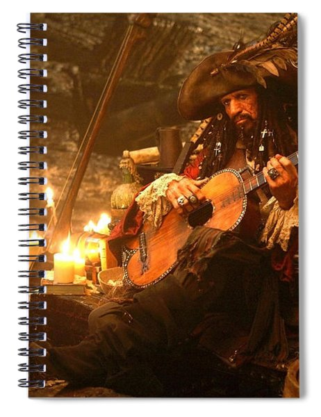 Pirates Of The Caribbean At World's End Spiral Notebook