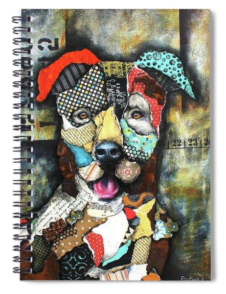 Pit Bull Spiral Notebook