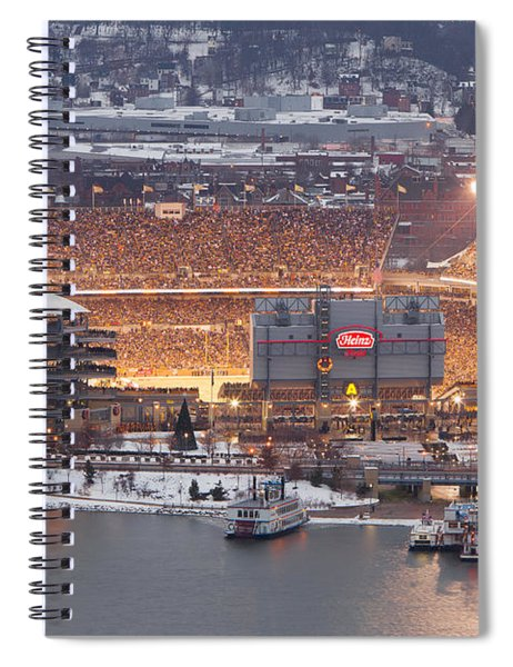 The House Of Steel  Spiral Notebook
