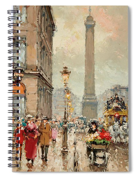 Place Vendome Spiral Notebook